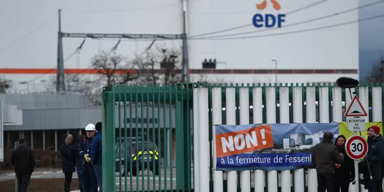 Fessenheim: Sébastien Lecornu visite la centrale nucléaire