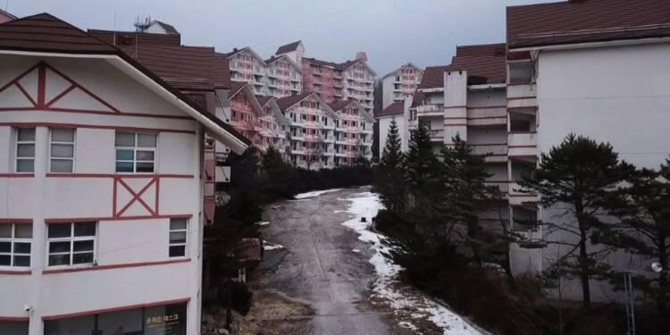 Et après? Une station de ski fantôme hante les JO de Pyeongchang