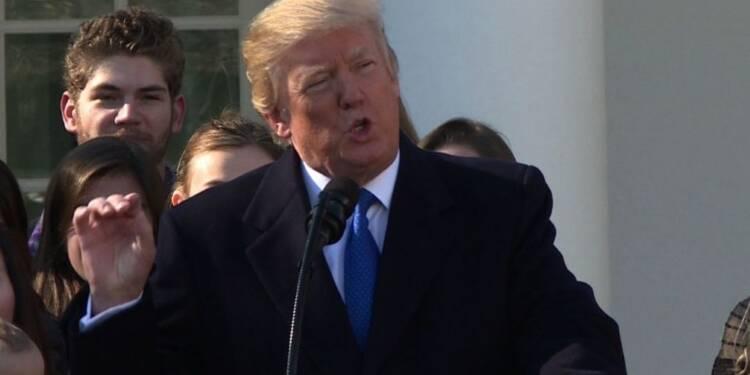 Trump soutient les militants anti-avortement