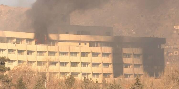 Kaboul: au moins 6 morts dans l'attaque d'un hôtel
