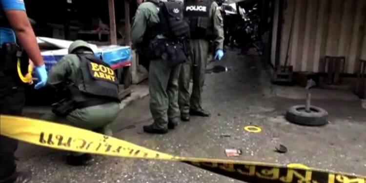 Thaïlande: 3 morts dans l'explosion d'une bombe sur un marché