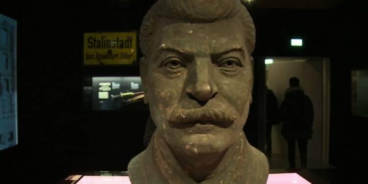 Une statue de Staline en balade à Berlin