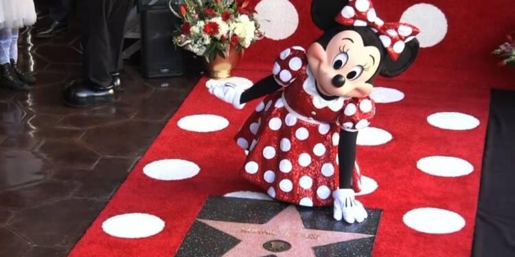 Cinéma: Minnie obtient une étoile sur Hollywood Boulevard