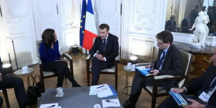 Macron obtient des annonces d'investissements en France