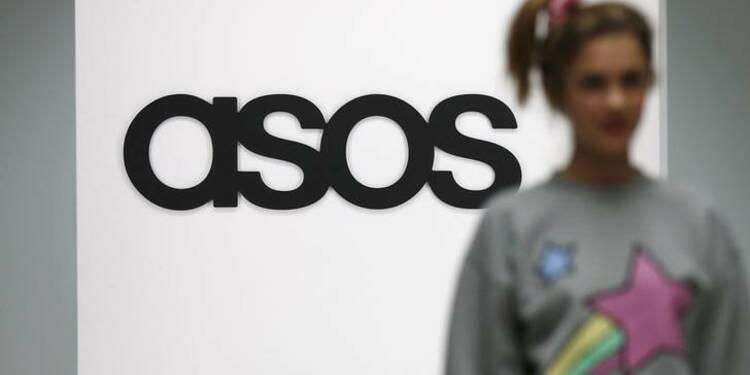 Asos: Les ventes de fin d'année supérieures aux attentes