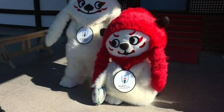 Rugby: le Japon dévoile les mascottes de la Coupe du monde 2019