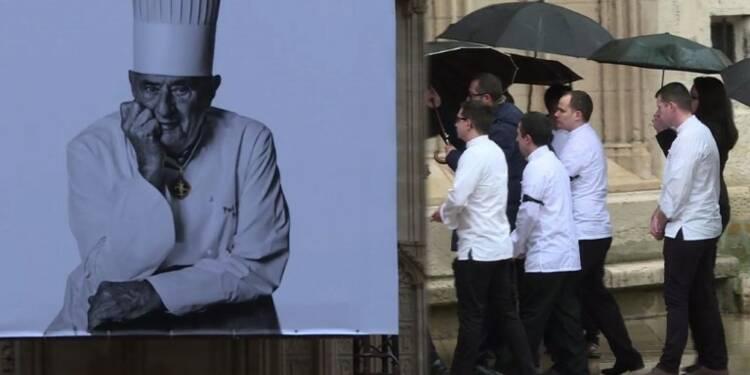 Des centaines de chefs à Lyon pour un hommage à Paul Bocuse