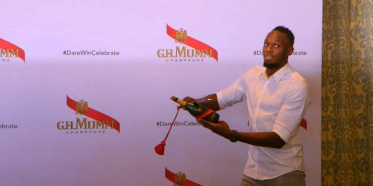 Bolt, parrain de la prestigieuse Sun Met en Afrique du Sud