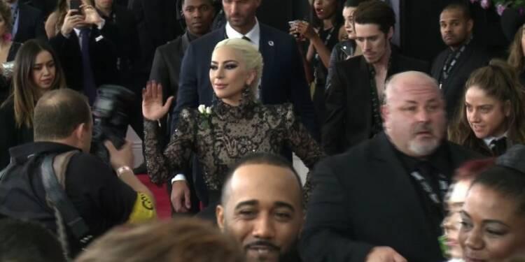 Déluge de stars sur le tapis rouge des Grammy Awards