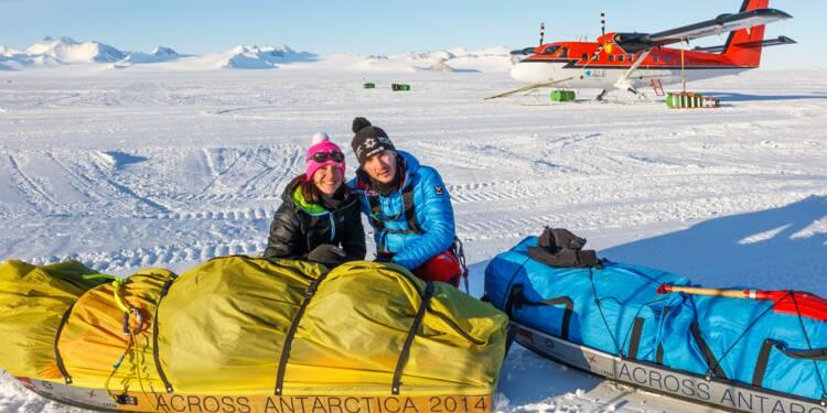 La traversée de l'Antarctique à ski : ces deux avocats l'ont fait !
