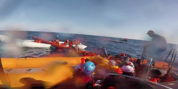 Migrants: deux femmes mortes en Méditerranée, nombreux disparus