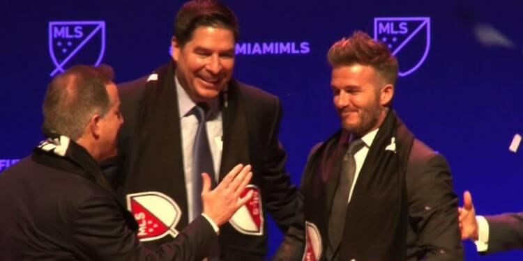 Foot: l'équipe de Beckham à Miami va intégrer la MLS