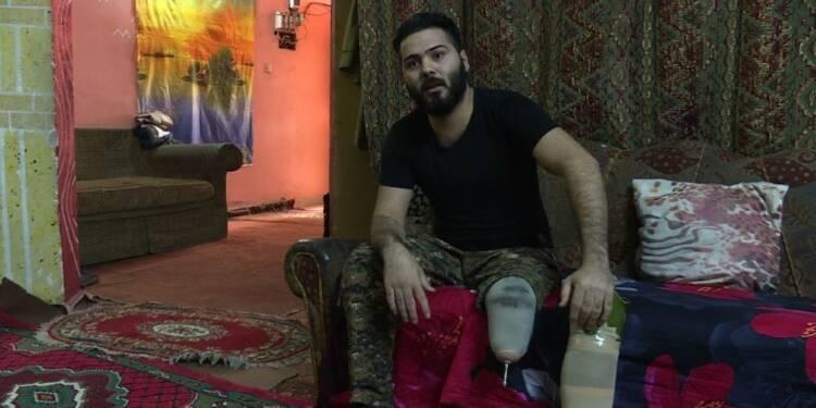 Irak: handicap et pauvreté après les blessures subies au front