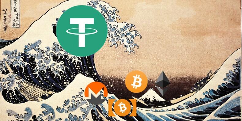 Tether, la cryptomonnaie qui fait trembler tout le secteur