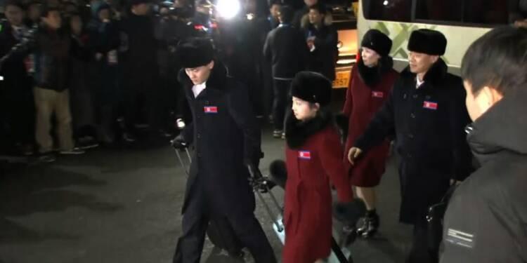 JO-2018: des athlètes nord-coréens arrivent en Corée du Sud