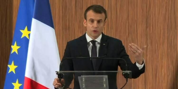 Macron annonce la création d'une université franco-sénégalaise