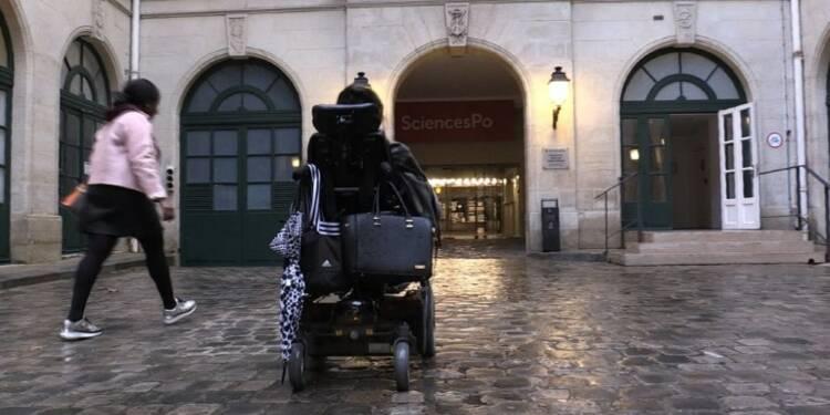 Le parcours du combattant d'une étudiante handicapée à Paris