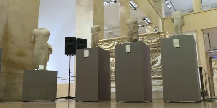Le Liban célèbre le retour de cinq pièces d'antiquité volées