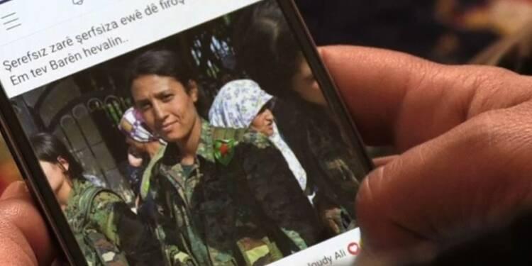 Syrie: images du corps d'une combattante, les Kurdes indignés