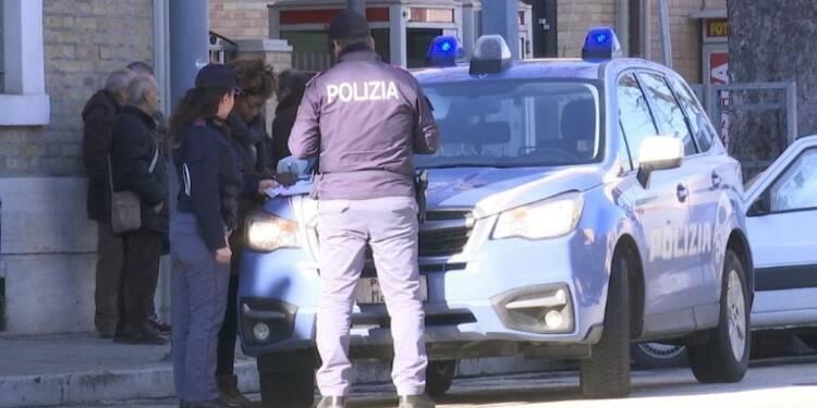 Italie: la villle de Macerata sous le choc après la fusillade