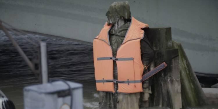 Crues: un gilet de sauvetage pour le Zouave