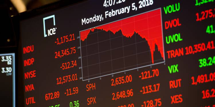 Wall Street en proie à une grande fébrilité