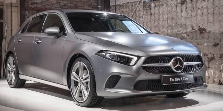 Mercedes Classe A 2018 : l'intelligence artificielle est à bord