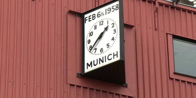 Manchester United: 60e anniversaire du crash de Munich