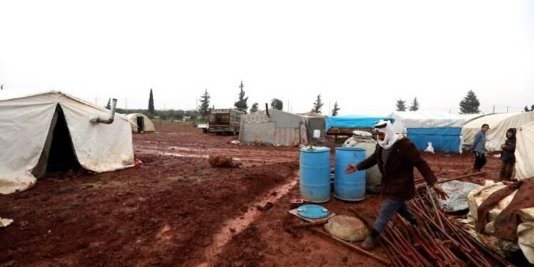 En Syrie, la guerre rattrape ceux qui la fuient