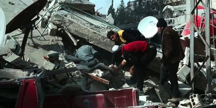 Syrie: plus de 60 civils tués dans de nouveaux raids du régime