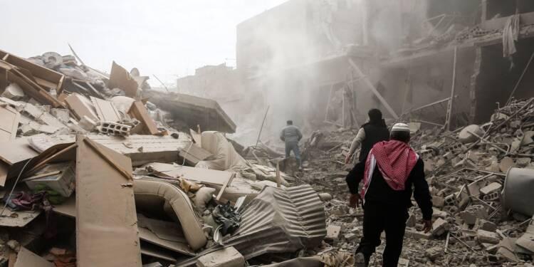 Syrie: sept morts dans de nouveaux raids du régime près de Damas