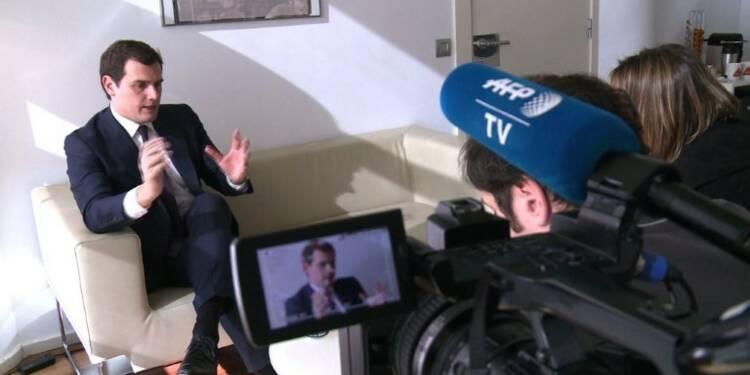 Entretien exclusif AFP : Albert Rivera