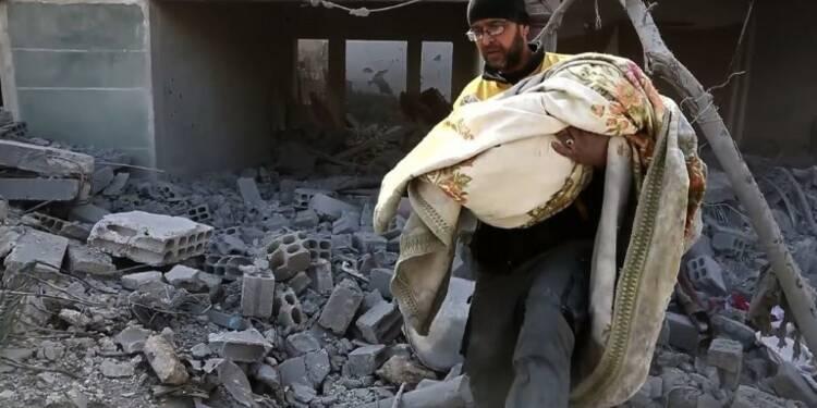 Syrie: nouvelles frappes du régime contre un fief rebelle (OSDH)