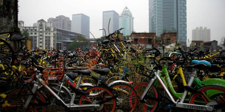 """Le chinois BiCycle, dernière victime en date de la """"bulle"""" des vélos partagés"""