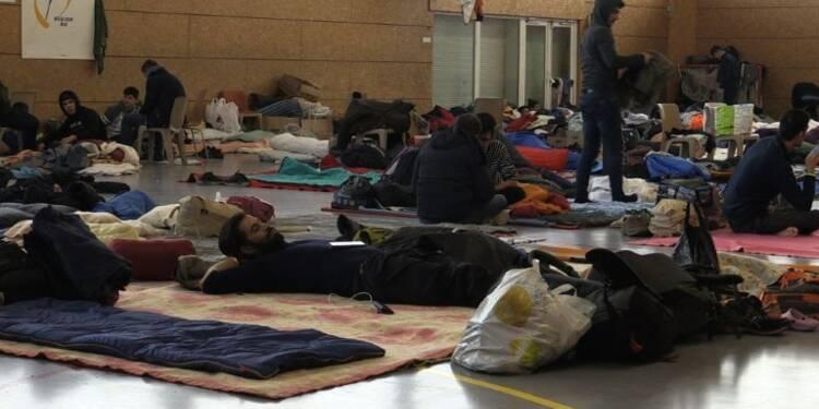 Accueil hivernal des migrants: Grande-Synthe se veut exemplaire