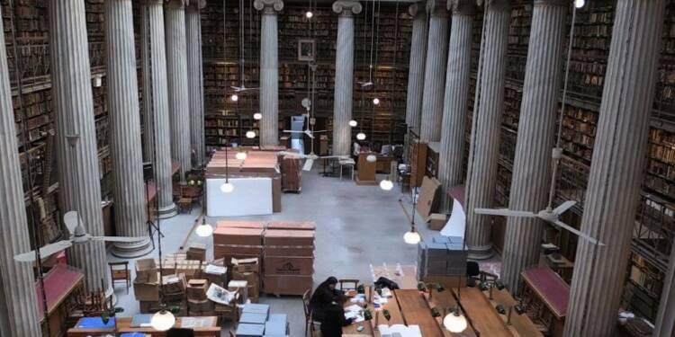 Grèce: la bibliothèque nationale entame son déménagement