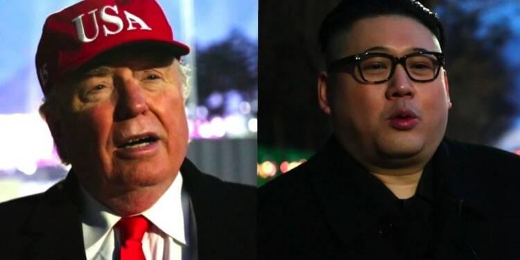 JO-2018:Trump et Kim absents, des imitateurs prennent leur place