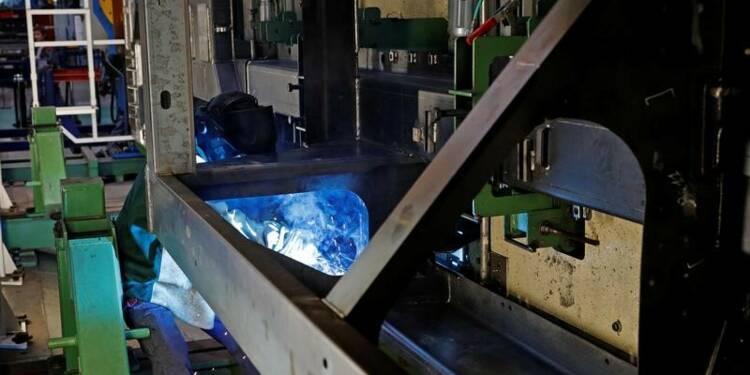 La production industrielle a fini 2017 sur une note élevée