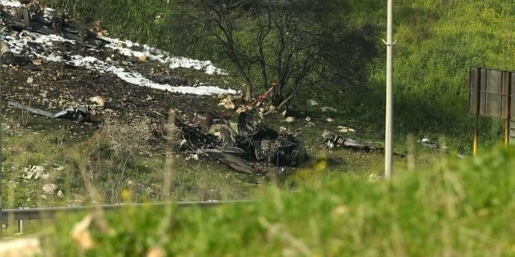 Un avion de combat F16 israélien s'est écrasé en Israël