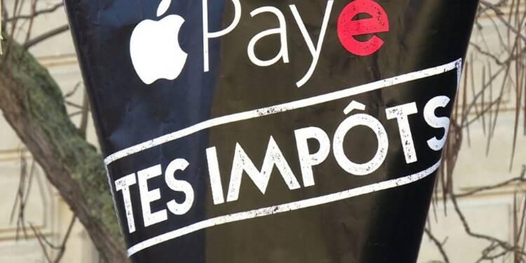 Paris :manifestation de soutien à ATTAC après la plainte d'Apple