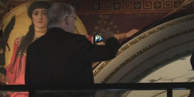 Autriche: des oeuvres inaccessibles de Klimt visibles de près