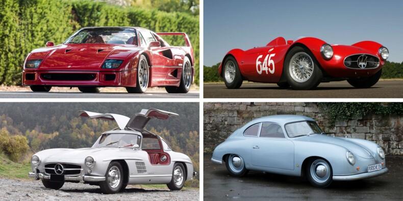 Bugatti Atalante, Porsche 904, Maserati A6… Découvrez le Top 10 des enchères du Salon Rétromobile 2018