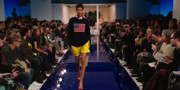 Fashion Week: défilé nautique très classique pour Ralph Lauren