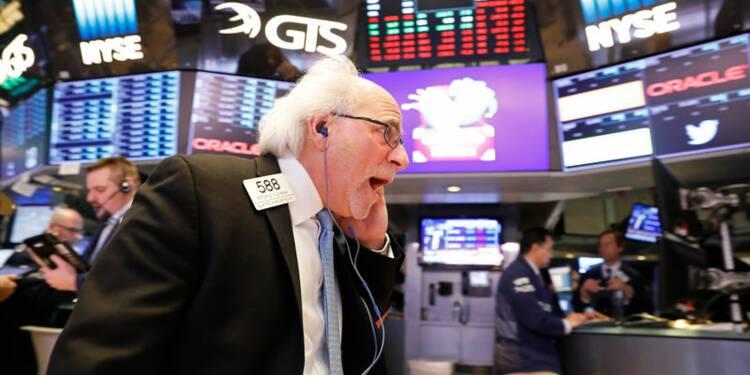 Wall Street ouvre en baisse après deux séances de gains