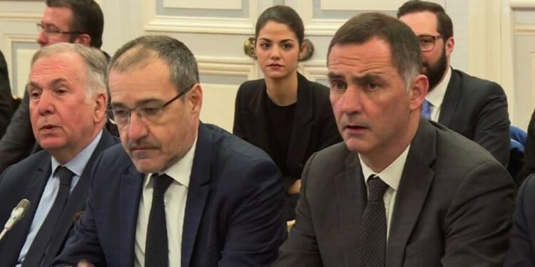Les élus de Corse reçus au ministère de l'Intérieur à Paris