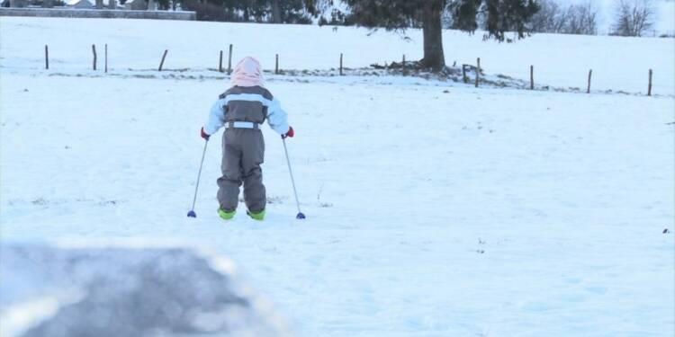 Plateau de Millevaches... une autre façon de faire du ski!