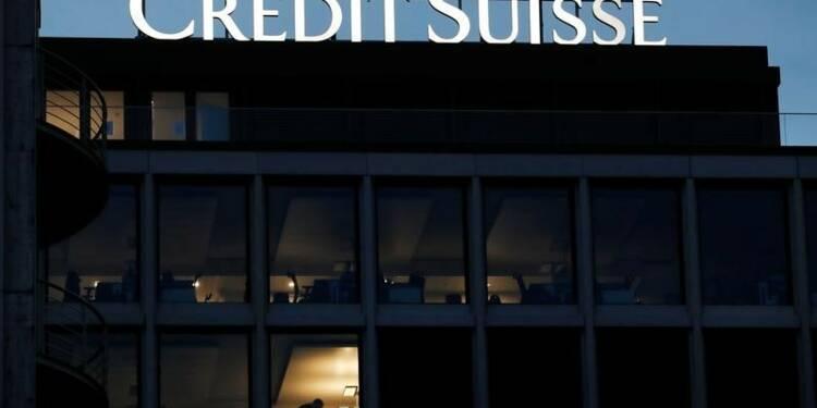 Crédit Suisse: Perte annuelle pour cause de réforme fiscale américaine