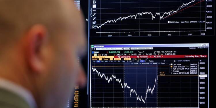 Wall Street réagit modérément à la hausse de l'inflation