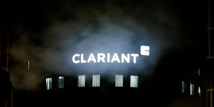 Clariant annonce un bénéfice annuel inférieur aux attentes