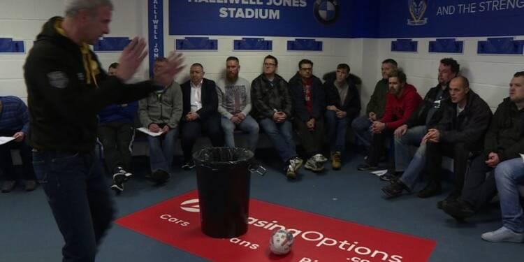 Rugby: une association aide les fans à surmonter la dépression